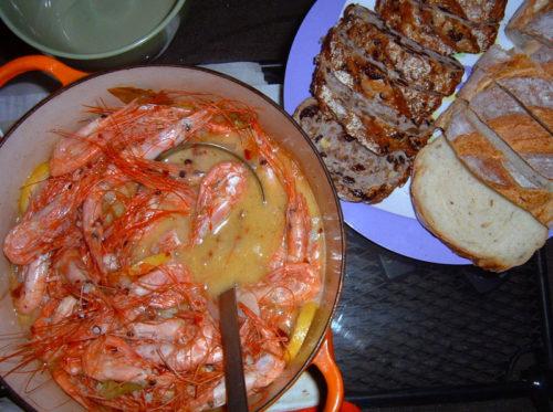 peel n' eat prawns