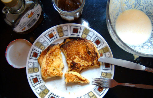 cornmeal pancakes | everybody likes sandwiches