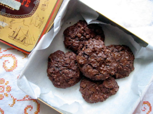 chocolate puddle cookie