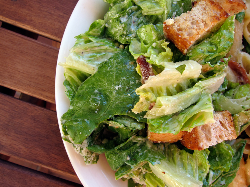 simple caesar salad – no raw eggs required | Everybody Likes ...