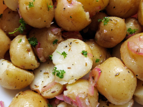 potato salad with cumin