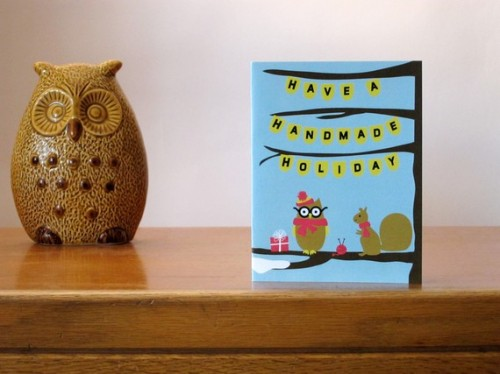 Have a Handmade Holiday greeting card