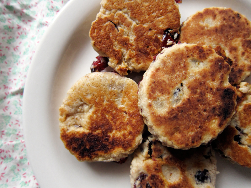 Whole Wheat Welsh Cakes