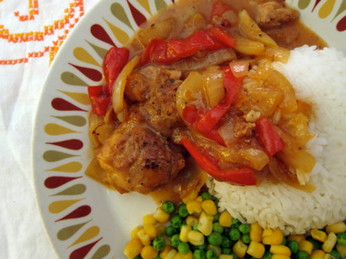 sweet & sour marmalade chicken