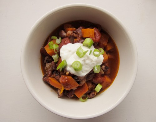 sweet potato bean chili