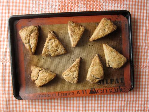 buckwheat maple walnut scones