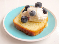 delicious low fat lemon tea loaf