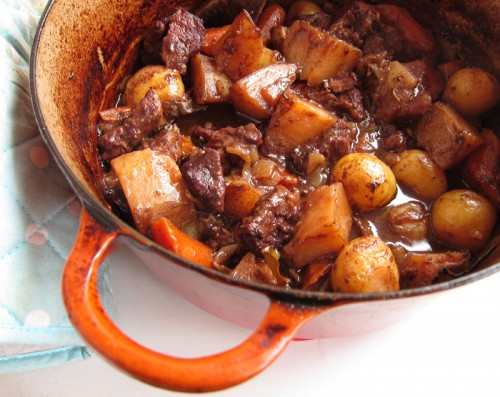 beef stew with gremolata