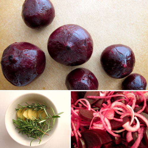 beets about to be pickled