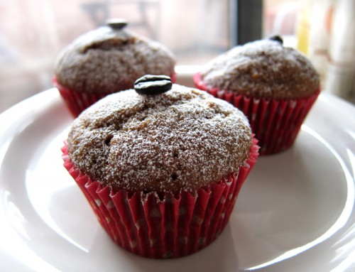 coffee & spice cupcakes