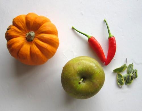 pumpkin, apples & spice