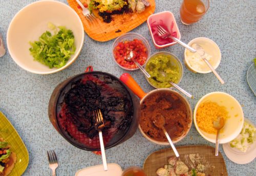 huaraches toppings!