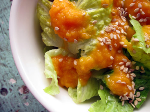 carrot ginger dressing