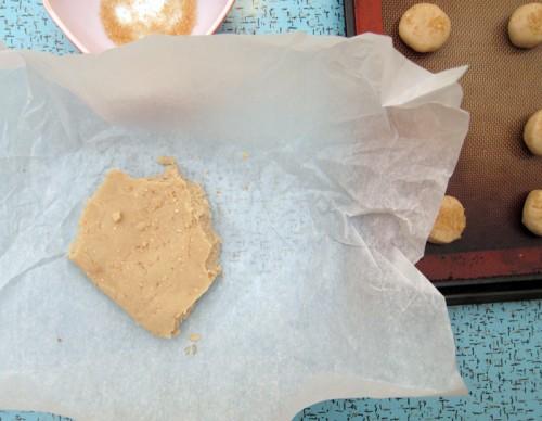 sesame seed tahini cookies