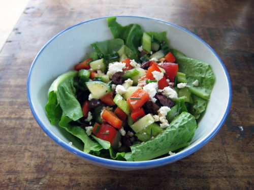 mediterranean salad | everybody likes sandwiches