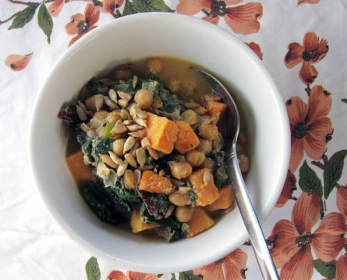 autumn chickpea & greens stew | everybody likes sandwiches