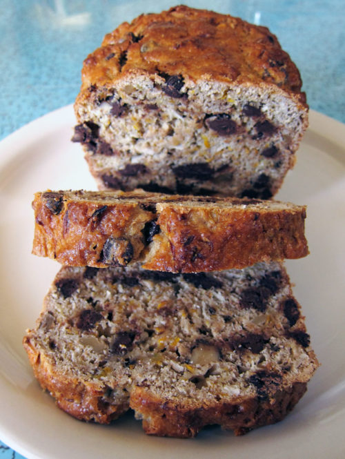 golden squash coconut chocolate chip loaf | everybody likes sandwiches