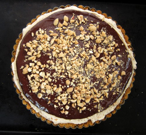 chocolate & peanut butter mousse tart | everybody likes sandwiches