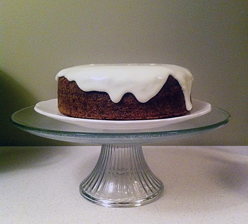 carrot cake with cream cheese frosting | everybody likes sandwiches