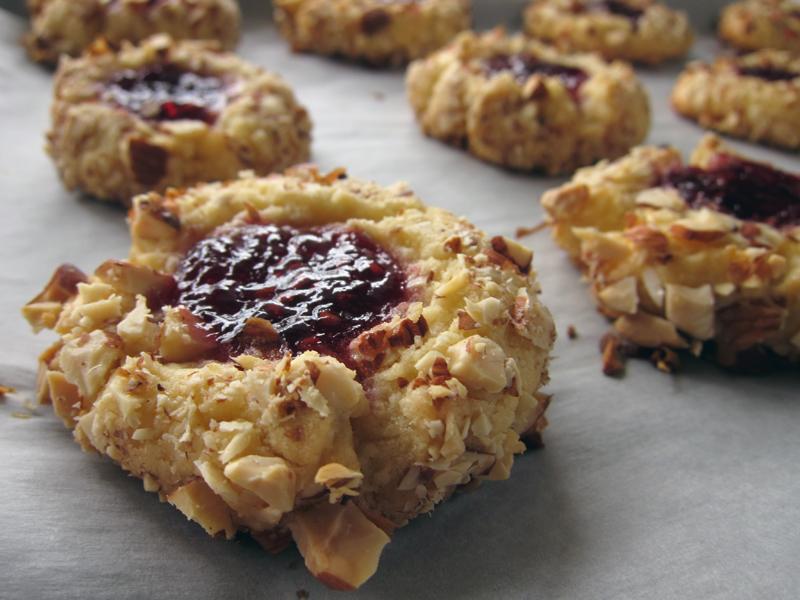 love is….raspberry jam thumbprint cookies | Everybody ...