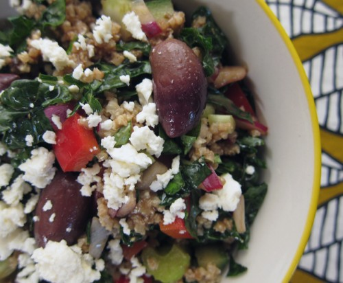 kale & millet salad | everybody likes sandwiches