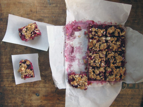 raspberry breakfast bars | everybody likes sandwiches