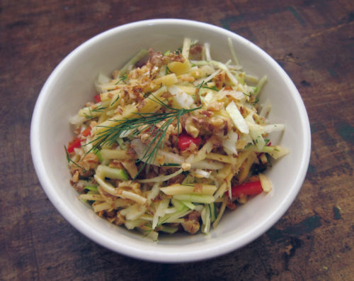 winter slaw with rutabaga | everybody likes sandwiches