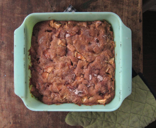 apple cinnamon snack cake | everybody likes sandwiches