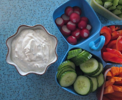 dill dip for vegetables | everybody likes sandwiches