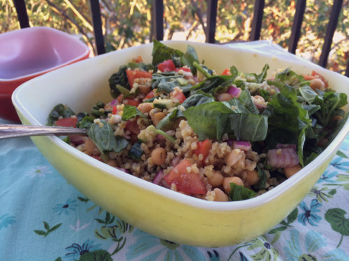 summer bulgur & chickpea salad | everybody likes sandwiches