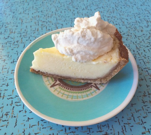 frozen lemon ice box pie with gingersnap crust | everybody likes sandwiches