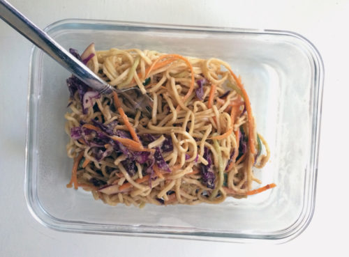 cold sesame noodles   everybody likes sandwiches